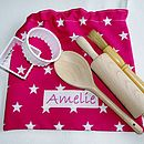 Cerise Pink Baking Bag