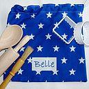 Blue Baking Bag Set