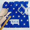 Blue Baking Bag Set