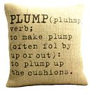 'Plump' Definition Cushion Cover