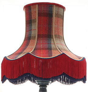 Wexford Plaid Lampshade - lamp bases & shades