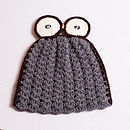 Personalised Crochet Owl Tea Cosy