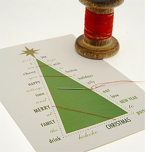Stitch Your Christmas Card - view all sale items