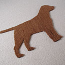 Labrador Dog Door Mat