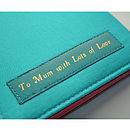 Personalised Leather Kindle Paperwhite Cover