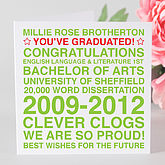 Personalised Graduation Card - cards