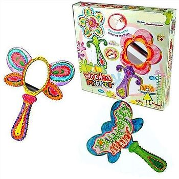 Paint Your Own Hand Mirror Craft Kit