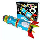 Make A Space Rocket Craft Kit Toy