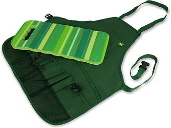 Garden Apron And Kneeler Gift Set