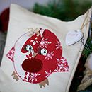Personalised Stocking With Robin