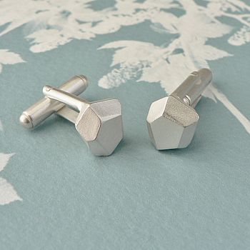 Faceted Fragments Cufflinks