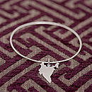 Sterling Silver India Bangle