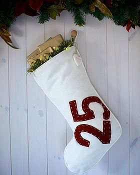 Personalised Advent Stocking