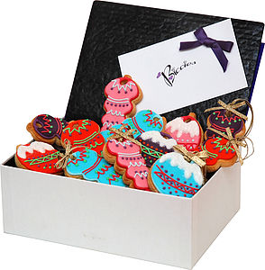 Christmas Biscuit Bauble Box - food & drink gifts
