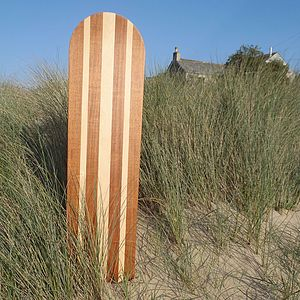 Championship Wooden Bellyboard Surfboard - interior accessories