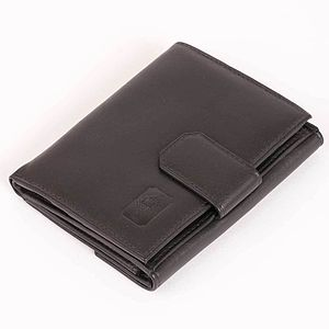 Compact Leather Purse In Cambridge Hide - purses & wallets