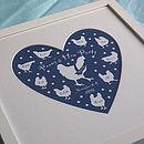 Midnight Blue 9 Hens