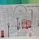 London Wedding Save The Dates