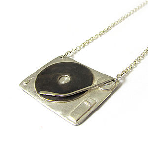 Chief Cougars 1210s Silver Turntable Necklace