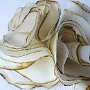 Lily Flowers Ivory 446