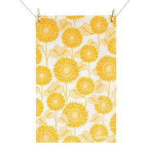 Sunflower Tea Towel - kitchen accessories