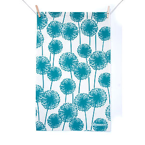 Alliums Tea Towel