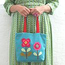 Retro Flowers Bag