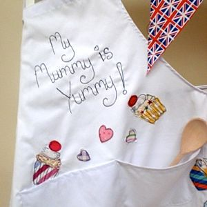 Embroidered Apron - aprons