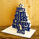 Merry Christmas & a Happy New Year 2013