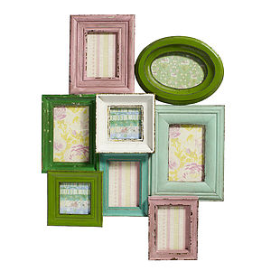 Pastel Picture Frame By Nordal - decorative accessories