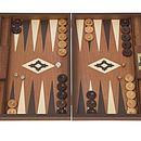 Mahogany Backgammon Set