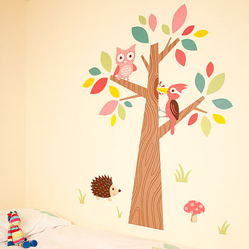 Forest Friends Wall Stickers