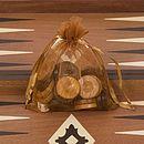 Mahogany Backgammon Set