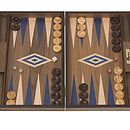 Uber Walnut Backgammon Set