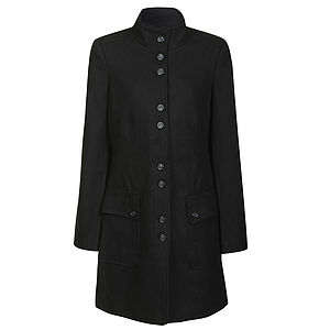 Colline Wool Blend Coat - jackets & coats