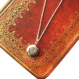 Secret Locket Charm Necklace