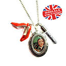 Ruby Slippers Wizard Of Oz Necklace
