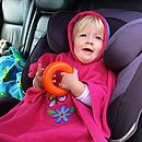 Hooded Poncho For Car Seats And Buggies