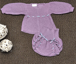 Soft Knitted Baby Set