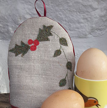 Holly And Ivy Egg Cosy