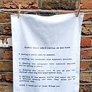 Tube Annoyance Tea Towel
