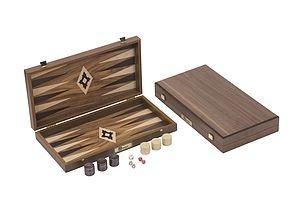 Walnut Backgammon Sets - for big kids
