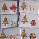 Decorating The Tree Christmas Cards