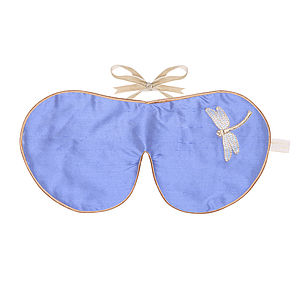 Holistic Silk Lavender Eye Mask - bedroom