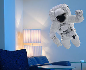 Astronaut Wall Sticker - wall stickers