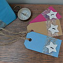 Star Map Gift Tag
