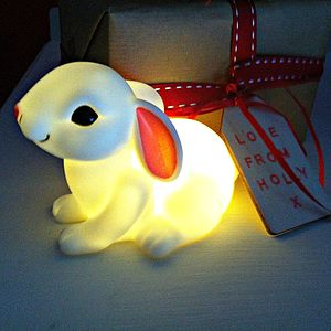 Baby Bunny Boo Mini Nightlight - children's lighting