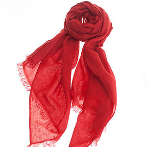Christmas Gift Cashmere Scarf By Ronit Zilkha - gifts for children to give