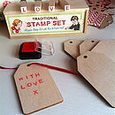 Retro Wooden Gift Tags