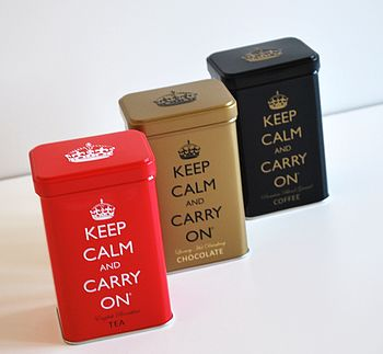 'Keep Calm And Drink' Caddy